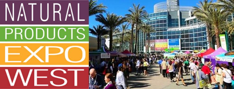 Sunny start to Natural Product Expo 2015 at Anaheim Convention Center
